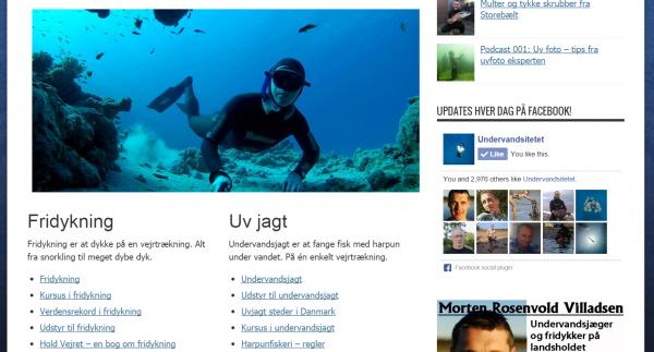 Undervandsitetet.dk